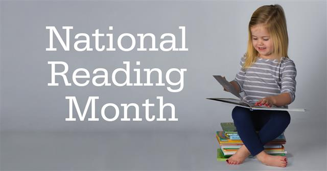 Celebrate National Reading Month Even if Students Can't Read Yet